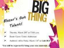 26 Online School Talent Show Flyer Template Now for School Talent Show Flyer Template