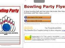 26 Printable Bowling Event Flyer Template Now by Bowling Event Flyer Template