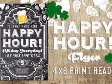 26 Printable Happy Hour Flyer Template Free Templates with Happy Hour Flyer Template Free
