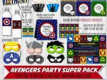 26 Standard Birthday Card Template Avengers Maker with Birthday Card Template Avengers