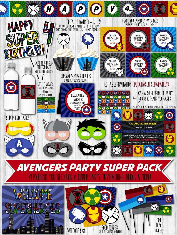 26 Standard Birthday Card Template Avengers Maker with Birthday Card Template Avengers