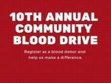 26 Standard Blood Drive Flyer Template Maker with Blood Drive Flyer Template