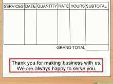 Invoice Template Private Person