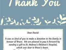26 Standard Thank You Card Templates For Funeral Now with Thank You Card Templates For Funeral