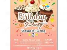 26 Visiting 2Nd Birthday Card Template PSD File with 2Nd Birthday Card Template