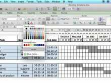 27 Adding Production Work Schedule Template Now with Production Work Schedule Template