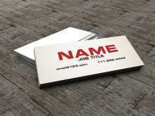 27 Adding Simple Name Card Template Free Download Maker by Simple Name Card Template Free Download