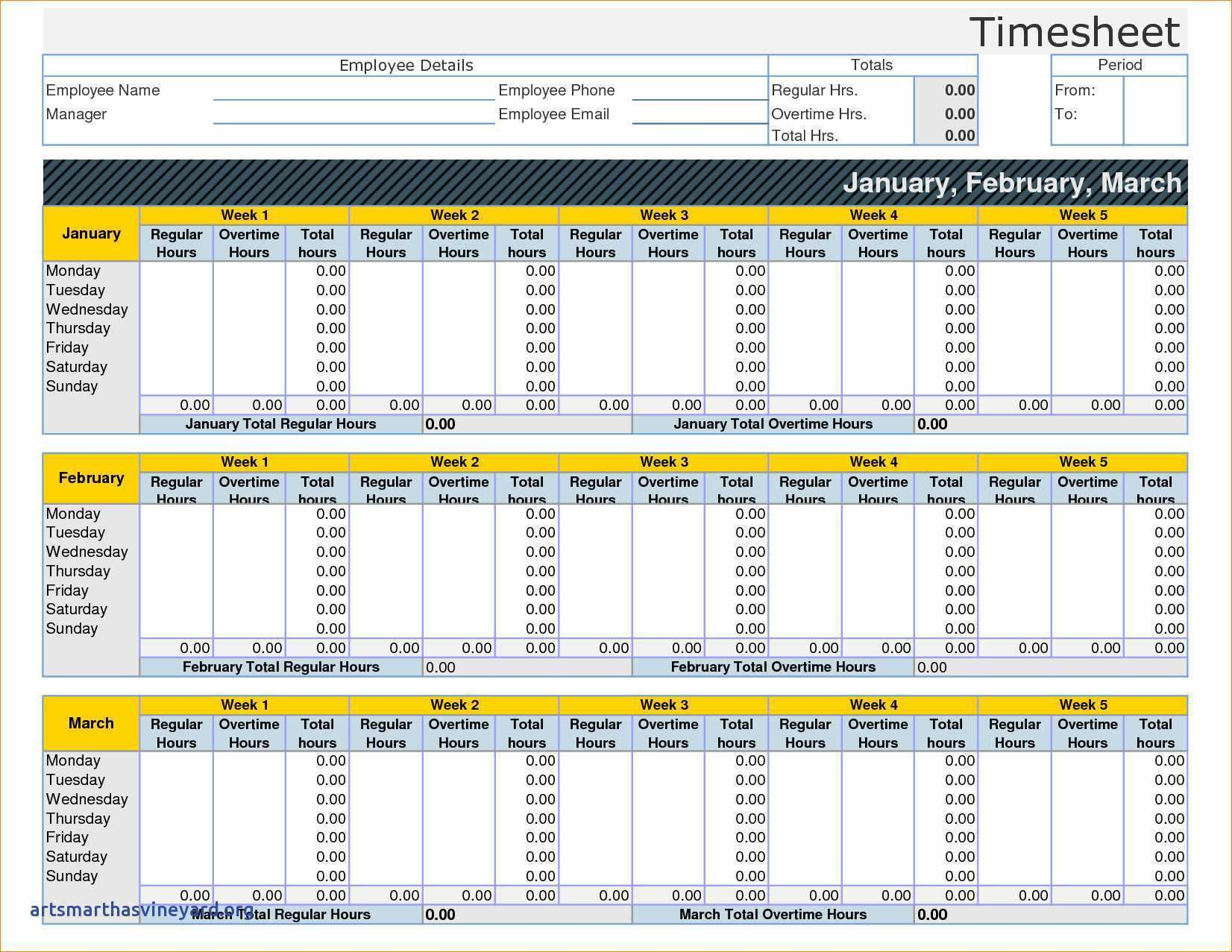 27 Best Biweekly Time Card Template Excel Templates for Biweekly Time Card Template Excel