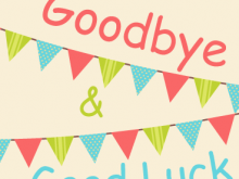 27 Blank Greeting Card Templates For Farewell Photo with Greeting Card Templates For Farewell