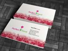 27 Create Flower Business Card Template Free Formating by Flower Business Card Template Free