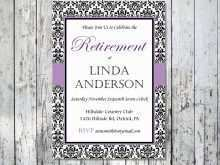 27 Create Free Retirement Party Flyer Template in Photoshop by Free Retirement Party Flyer Template