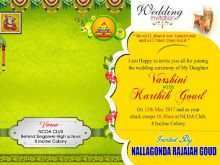 Wedding Card Template Free Online