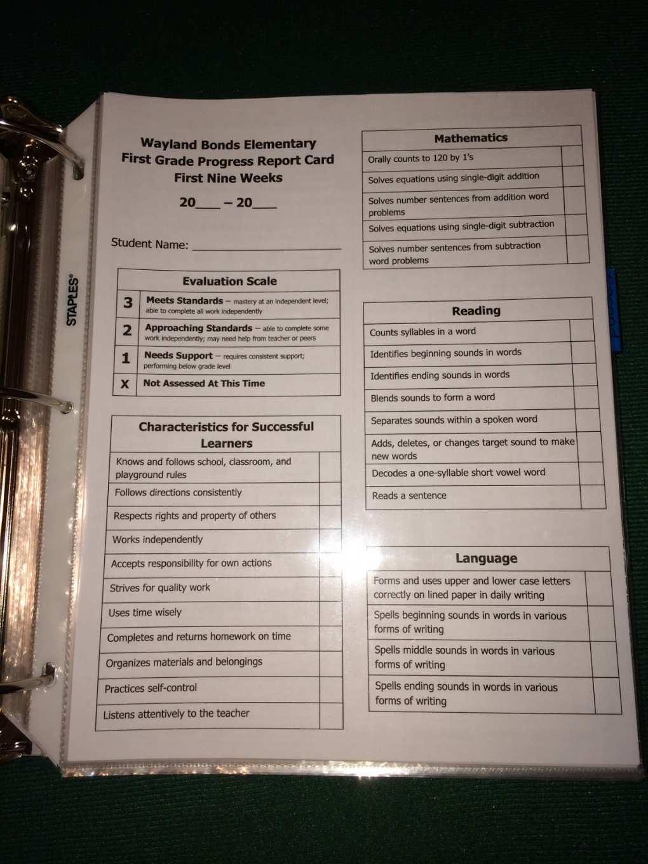 27 Creating 9 Week Report Card Template in Word by 9 Week Report Card Template