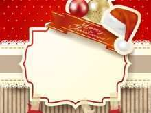 27 Creative Christmas Card Template Online Free For Free with Christmas Card Template Online Free