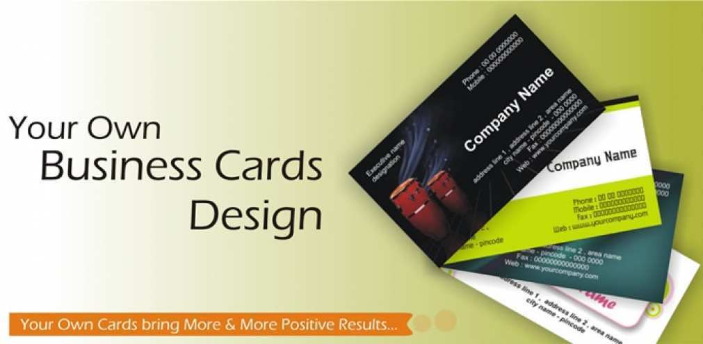 Business Card Template Free Formating
