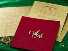 Royal Wedding Card Templates
