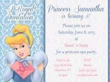 27 Customize Cinderella Birthday Card Template PSD File for Cinderella Birthday Card Template