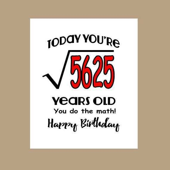 27 Format 75Th Birthday Card Template Layouts by 75Th Birthday Card Template