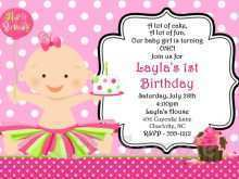 27 Free Birthday Invitation Card Template For Girl Download for Birthday Invitation Card Template For Girl
