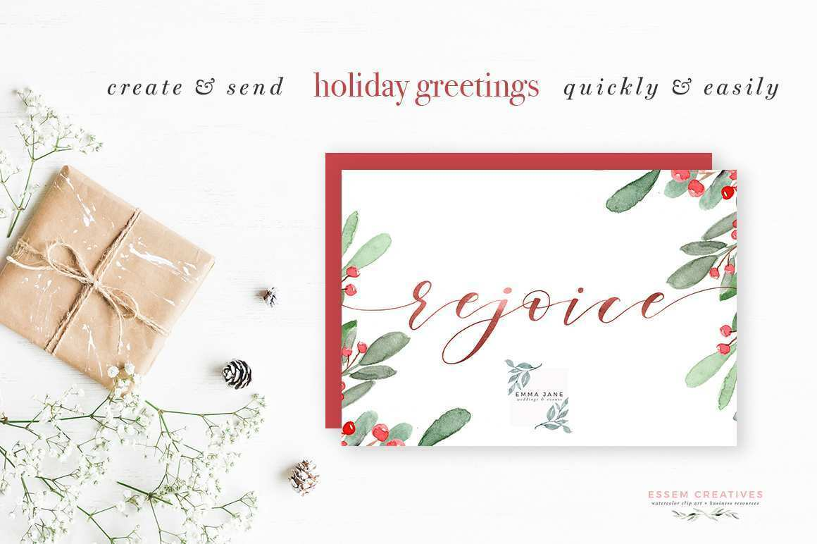 27 Free Christmas Card Template A4 for Ms Word with Christmas Card Template A4