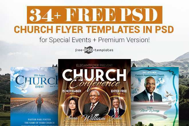 27 Free Free Church Flyer Templates Layouts for Free Church Flyer Templates