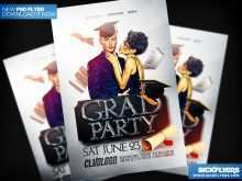 27 Free Graduation Party Flyer Template Maker by Graduation Party Flyer Template