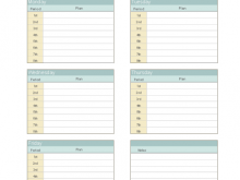 27 Free Printable Class Schedule Layout Template Formating for Class Schedule Layout Template