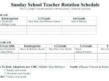 27 Free Printable Class Schedule Template For Teachers Now by Class Schedule Template For Teachers