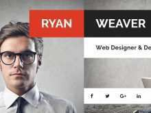 Personal Vcard Template Free