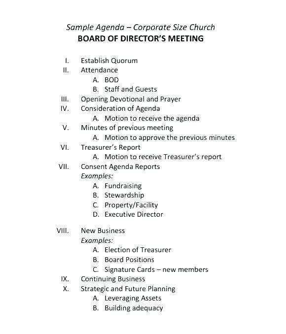 27 How To Create Church Council Meeting Agenda Template in Photoshop for Church Council Meeting Agenda Template
