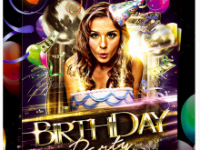 27 Online Birthday Party Flyer Template Now by Birthday Party Flyer Template