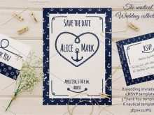 Nautical Thank You Card Template