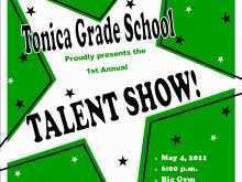 27 Printable School Talent Show Flyer Template in Photoshop for School Talent Show Flyer Template