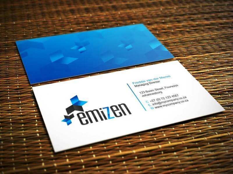 27 Standard Business Card Templates South Africa in Photoshop by Business Card Templates South Africa