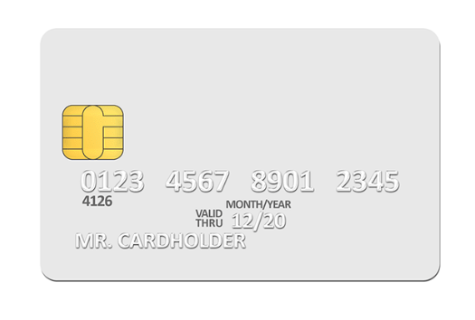 27 The Best A Credit Card Template Now with A Credit Card Template