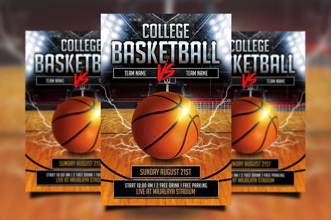 Basketball Flyer Template Free from legaldbol.com