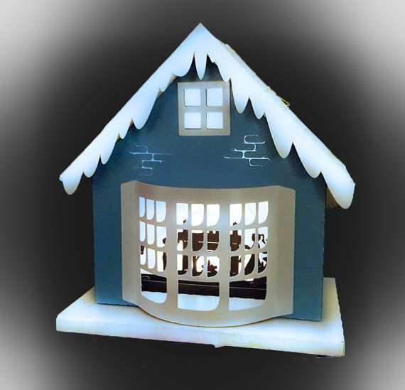 27 Visiting Christmas Card House Template in Word by Christmas Card House Template