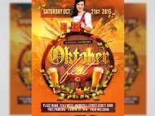 Oktoberfest Flyer Template Free Download