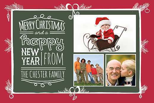 28 Adding Christmas Card Template 2 Photos in Word with Christmas Card Template 2 Photos