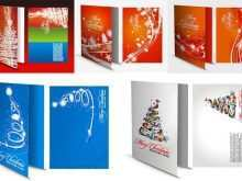 Christmas Card Template Illustrator Free