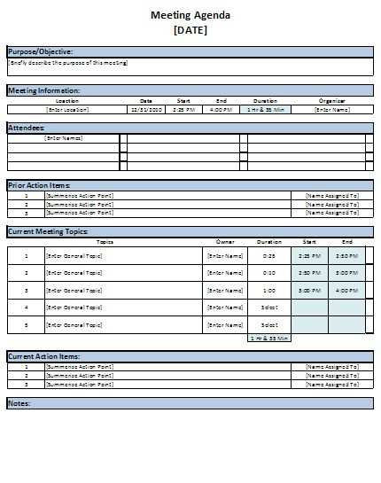 28 Best Conference Agenda Template Excel Layouts with Conference Agenda Template Excel