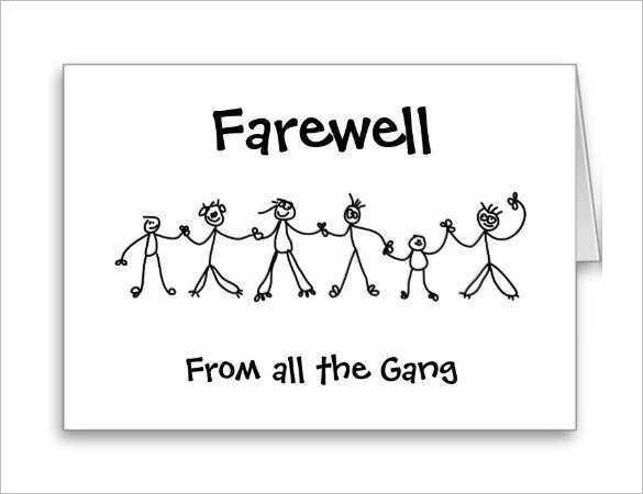 28 Best Farewell Card Template Powerpoint Download with Farewell Card Template Powerpoint