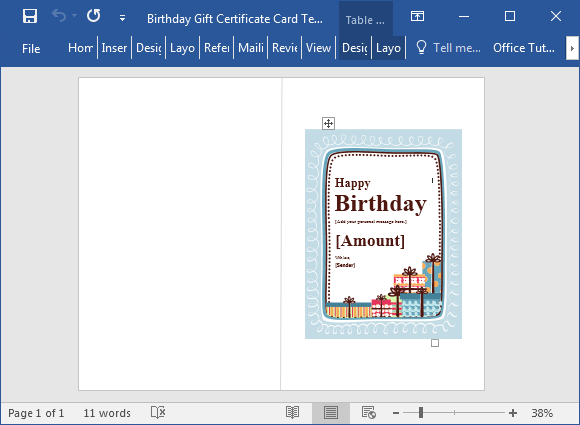28 Birthday Card Template Word 2016 Download for Birthday Card Template Word 2016