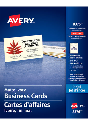28 Blank Avery Perforated Business Card Template for Avery Perforated Business Card Template