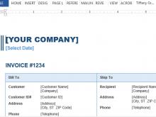 28 Blank Company Invoice Template Free Templates for Company Invoice Template Free