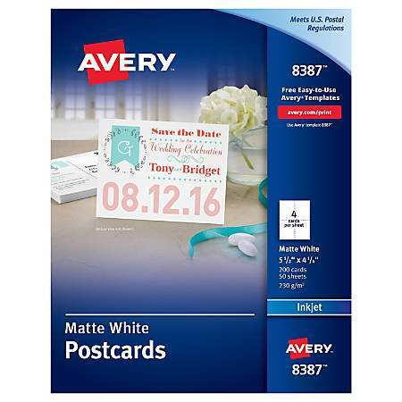 28 Creative Avery Postcard Template 3263 in Photoshop for Avery Postcard Template 3263