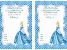 28 Creative Cinderella Birthday Card Template Now for Cinderella Birthday Card Template