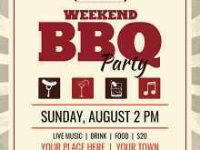 28 Customize Bbq Flyer Template PSD File by Bbq Flyer Template