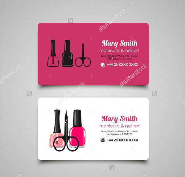 28 Customize Beauty Business Card Template Word Download by Beauty Business Card Template Word