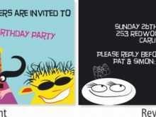 28 Customize Birthday Invitation Card Template Vector Coreldraw for Birthday Invitation Card Template Vector Coreldraw